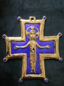 croix cathédrale d'Exeter Angleterre , Mrg Pican BayeuxLisieux (1)
